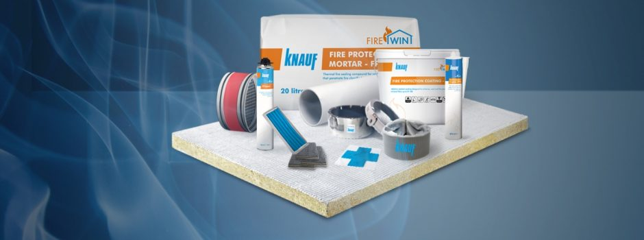 KNAUF FIREWIN NEW PRODUCTS