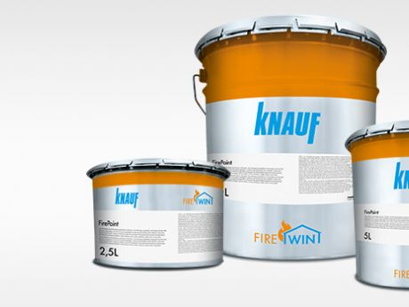 KNAUF FIREWIN INTUMESCENT COATING – RELIABLE QUALITY LAYER BY LAYER